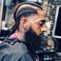 Cornrows Men, Cornrow Hairstyles For Men, Black Men Hairstyles, Haircuts For Men, Cornrow Styles For Men, Men's Hairstyles, Tapered Haircut, Fade Haircut, Braids For Boys