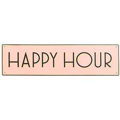 Buy Rosanna Happy Hour Plaque Online at johnlewis.com