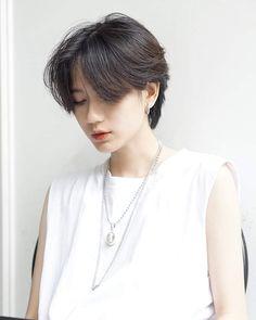 Really Short Hair, Girl Short Hair, Short Hair Cuts, Korean Short Hair, Manga Hair, Shot Hair Styles, Dye My Hair, Aesthetic Hair, Love Hair