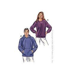 Kwik Sew 3045 pull-over sweatshirt sewing pattern Viria, Kwik Sew Patterns, Top Pattern, Menswear, Unisex, Sweatshirts, Sewing Ideas, Sewing Diy, Sewing Projects
