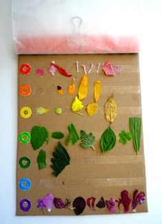 Have you been on a color walk lately?   A Bit of This and A Bit of That shares a new way   to keep track of your finds on this easy-to-  make color collecting board