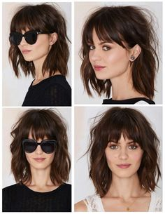 Corte 2018 Corte 2018 The post Corte 2018 appeared first on Geflochtene Frisuren. # shag Hairstyles with bangs Corte 2018 – - Geflochtene Frisuren Medium Hair Cuts, Medium Hair Styles, Curly Hair Styles, Curly Bangs, Messy Bangs, Choppy Bangs, Hair Fringe Styles, Braid Bangs, Ombre Hair