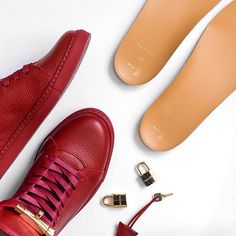 Great shot by @anthonybuile of these red @buscemi sneakers. #regram (Available on the third floor.)