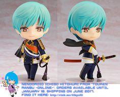 Nendoroid Ichigo Hitohuri from Touken Ranbu -ONLINE-   #rinkya #japan #fromjapan #nendoroid #toukenranbu