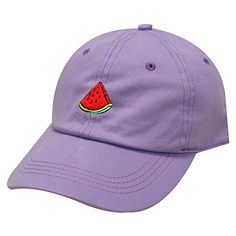 City Hunter, Dad Caps, Beanie Hats, One Size Fits All, Baseball Cap, Watermelon, Fashion Brands, Lilac, Dads