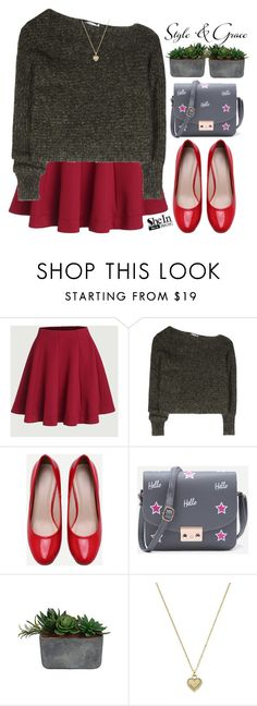 """""""Style & Grace!"""" by m-zineta on Polyvore featuring T By Alexander Wang, Laura Ashley and Michael Kors"""