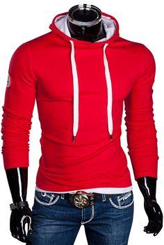 Herren Slim Fit Kapuzen Pullover Hoodie Jacke Sweatjacke | Kapuzenpullover & Sweats | Herren Mode | DeineFashion