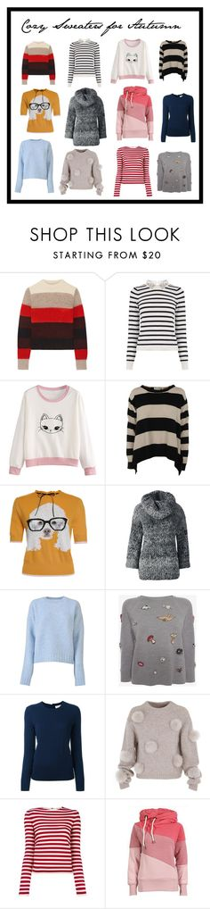 """""""Cozy Sweaters for Autumn"""" by crystalglowdesign ❤ liked on Polyvore featuring rag & bone, Oasis, STELLA McCARTNEY, Lands' End, CÉLINE, Alexander McQueen, Tory Burch, TIBI, Sonia Rykiel and Sweater"""