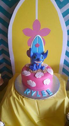 Lilo & Stitch surf party...cake