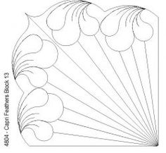 Capri Feathers Block 13: Click To Enlarge