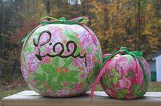 lilly pumpkins!