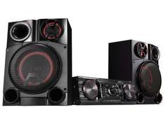 Mini System LG 1800W RMS Karaokê MP3 Player - Função Sound Sync Wireless CM8360 com as melhores condições você encontra no Magazine Tonyroma. Confira!