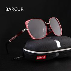 98f9257b2d BARCUR Female Sunglasses Women Brand Designer Polarized Sunglasses Summer  HD Polaroid Lens Sun Glasses With Original