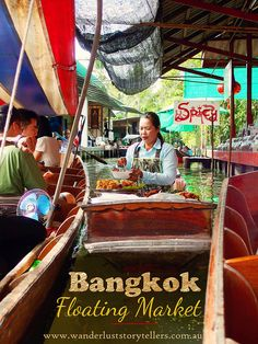 A little adventure on a Bangkok Day Tour to visit the ultra unique and popular Damnoen Saduak Floating Markets as well as an educational stop at the River Kwai Kanchanaburi. Read more on wanderluststorytellers.com.au