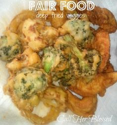Fair Food: deep fried veggies