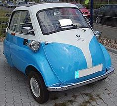 Isetta - the only car that can make Urkel look cool