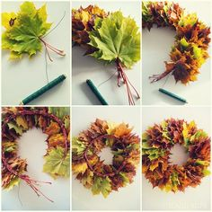 "Hemma hos oss: Min krans, Hemma hos oss: Min krans,NaturdekoDIY Macramé Krans, Super Mooi Decoratie-Item voor Ieder InterieurMit dem ""Mrs Greenery Kreativ-Set Greenery Kranz"" k. Diy Spring Wreath, Fall Wreaths, Diy Wreath, Autumn Crafts, Nature Crafts, Christmas Decorations For The Home, Christmas Crafts, Christmas Christmas, Diy And Crafts"
