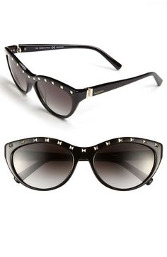 Valentino 'Rockstud' Cat's Eye Sunglasses available at Nordstrom