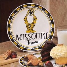 Missouri Tigers Ceramic Plate