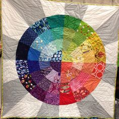 color wheel quilts - Google Search