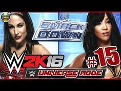 Wwe 2k16: Brie Bella Vs Alicia Fox - Smackdown [Universe Mode] #15