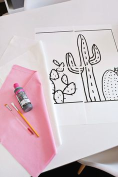My house has a few themes going on at once: pink, pastels, white fluffy fabrics, cats, and cacti! As much as I love an actual cactus, I do also have an affinity for cactus-related products as well. I