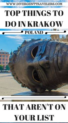 Top things to do in Krakow Poland that aren't on your things to do travel list. Discover the best topthings to do in Krakówincluding Wawel Cathedral, St Mary's Basilica, Wieliczka Salt Mine and much more! Click to read our 3 Day Krakow Itinerary – Things to Do in Krakow https://www.divergenttravelers.com/things-to-do-in-krakow-poland/ #Krakow #Poland #Guide #Thingstodo