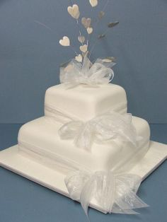 2 tier wedding cakes | Merivale Wedding Cakes 1 and 2 Tier Standard | Flickr - Photo Sharing!