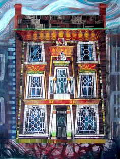 Ed Kluz, The Egyptian House, Penzance Historical Architecture, Print Artist, World Heritage Sites, Painting & Drawing, Printmaking, Egyptian, Illustrators, Art Pieces, West Cornwall
