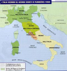 Italy unification maps pinterest italy accordi di plombieres mappa cerca con google thecheapjerseys Images