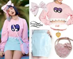 Steal Her Style: Melanie Martinez Pastel Goth Fashion, Kawaii Fashion, Cute Fashion, Fashion Outfits, Melanie Martinez Outfits, Melanie Martinez Style, Sweatshirt Outfit, Freelee The Banana Girl, Looks Kawaii