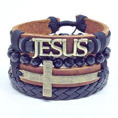 Men Accesories, Bohemian Jewellery, Mens Gear, Leather Jewelry, Bracelets For Men, Leather Men, Men Dress, Mens Fashion, Christian Jewelry