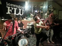 Icewagon FLU performs at Paddyfest 2015 in Purcellville.