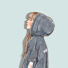 Pop Art Wallpaper, Lisa Blackpink Wallpaper, Anime Girl Hot, Anime Art Girl, Kpop Drawings, Cute Drawings, Cute Cartoon, Cartoon Art, Kpop Girl Bands