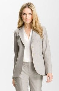 Theory suit-grayish tan blazer
