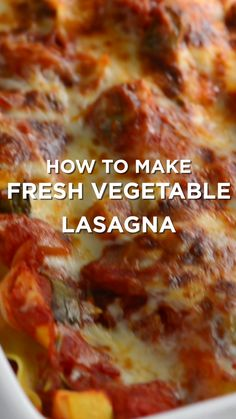 Lasagna Tender vegetables, a light tomato sauce and lots of cheese make this vegetable lasagna recipe one of our favorites.Tender vegetables, a light tomato sauce and lots of cheese make this vegetable lasagna recipe one of our favorites. Vegetable Lasagna Recipes, Vegetarian Lasagna Recipe, Vegetable Lasagne, Vegetable Dishes, Zucchini Lasagne, Lasagna Recipe With Vegetables And Meat, Meatless Lasagna, Spaghetti Squash Lasagna, Lasagne Recipes