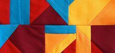 Para la combinación de  colores que debemos hacer en todas las técnicas de Patchwork podemos usar nuestro sentido común de cuáles son los colores que resultan armoniosos al juntarlos a pesar de sus diferencias y hasta estampados.