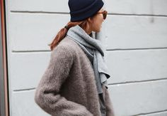 Winter time in Korea. 한국 여자 패션