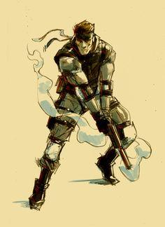 #solid #snake #metalgearsolid #konami #kojima