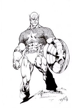 Ed Benes - Captain America, in Alberto Gonzalez's Captain America ...