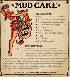 Sailor Jerry Mud Cake