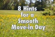 Ideas to make moving day less stressful - moving ideas - packing for a move - organize your move.