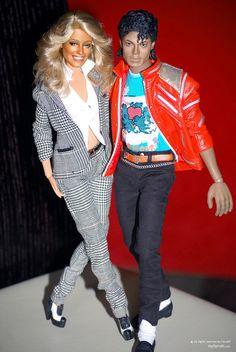 Farrah and Michael Jackson by farrahlfawcett.deviantart.com on @DeviantArt