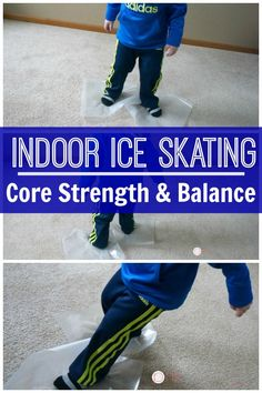Indoor Ice Skating -Ice skating is a great balance and kids core exercise. It& a great kids activity for the indoors. A fun winter themed activity for kids! Nanny Activities, Sports Activities For Kids, Movement Activities, Fun Activities To Do, Physical Activities, Motor Activities, Winter Activities, Preschool Winter, Music Activities