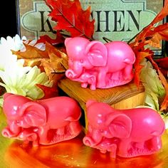 Elephant Melts Candles By Victoria, Wax Tarts, Scented Candles, Bath And Body, Elephant, Fragrance, Fruit, Rose, Flowers