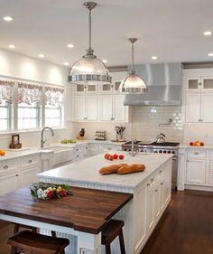 Kitchen Designers Nj Captivating Love Thiswood Top On Island  White  Kitchensdesign Design Decoration