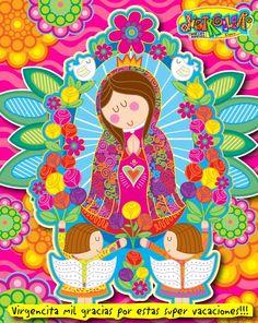 "Virgencita @Distroller. Por Distroller, marca creada por Amparo ""Amparin""…"