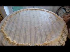 Άνοιγμα παραδοσιακού Λημνιού φύλλου για πίτα - YouTube Greek Recipes, Recipies, Snacks, Fruit, Cooking, Desserts, Youtube, Cheese, Foods