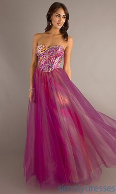 Print Prom Gown by Dave and Johnny 7940