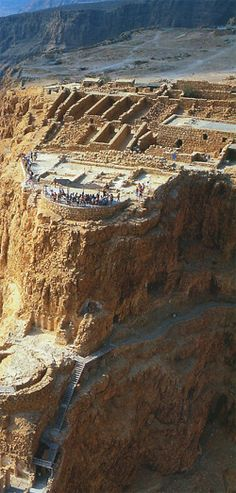 Masada-  just amazing! What a poignant history bleached into this fortress of rock...